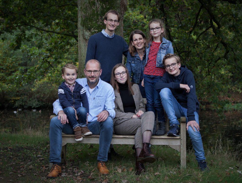 Familie Van den Berg Hierden